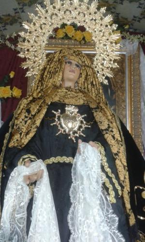 Virgen de la Soledad de Hebrea y Luto 2015