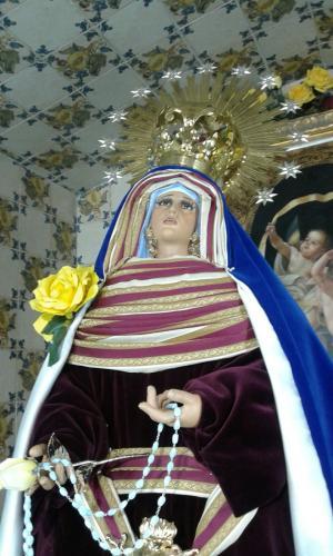 Virgen de la Soledad de Hebrea y Luto 2016